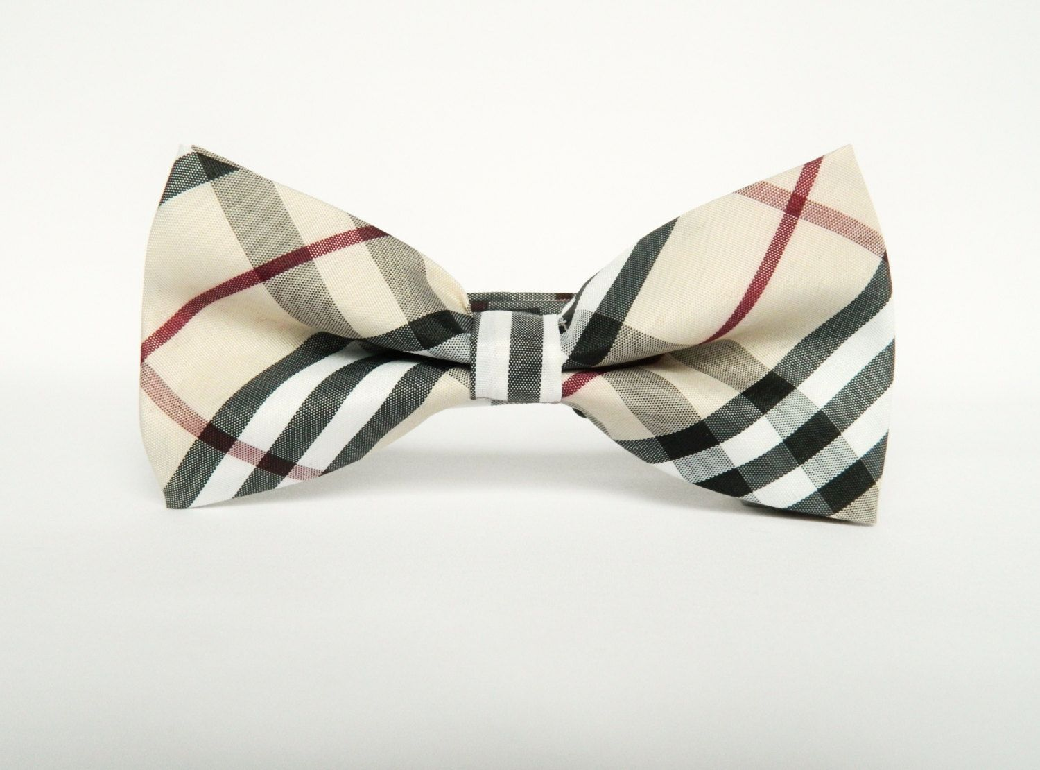 This Product Ships Free In The Uk Pre Tied Attached To An Adjustable Strap One Size Fits All Material Poly Tartan Bow Tie Ties Mens Fashion Beige Bow Tie