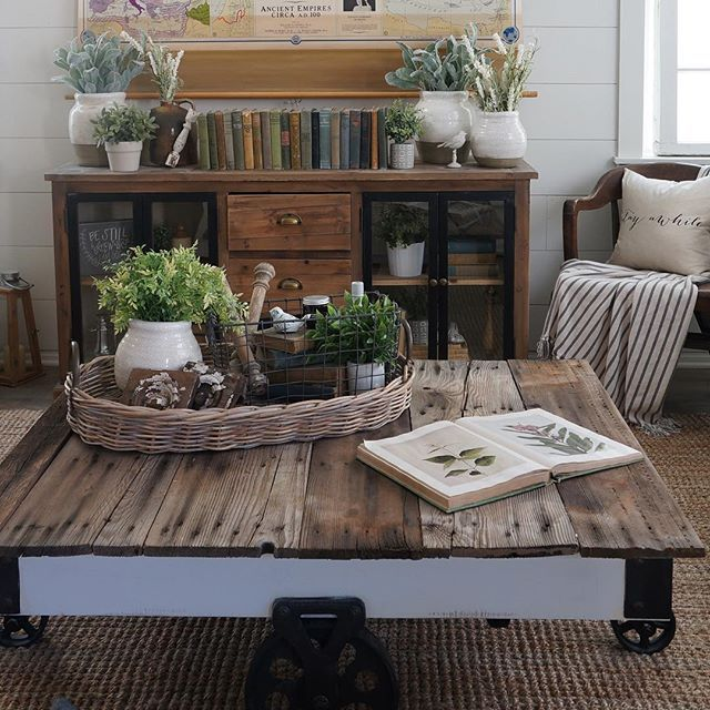Cozy Cottage Home Decorating for Fall - Fox Hollow Cottage