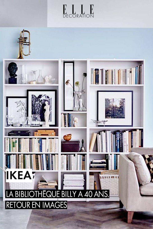 Ikea La Cultissime Bibliotheque Billy A 40 Ans Retour En Images Mobilier De Salon Deco Maison Et Decoration Bibliotheque
