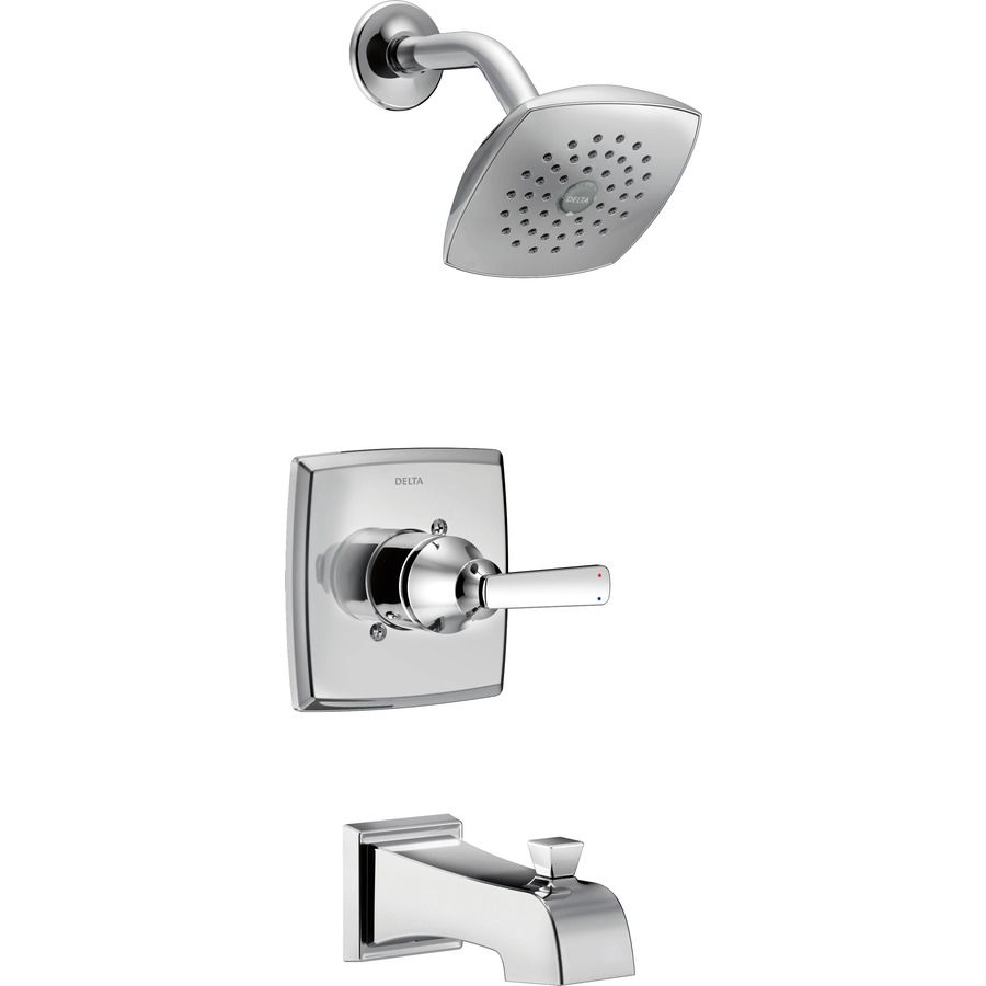Delta Ashlyn Chrome 1 Handle Watersense Bathtub And Shower Faucet
