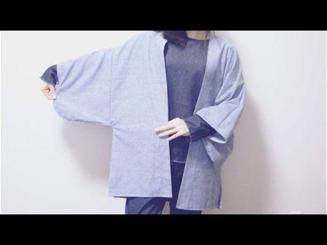 Sewing + DIY Haori. Kimono sleeve jacket