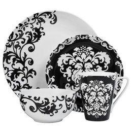 Friday Finds Week 47 2007 Wedding Black White Dishes