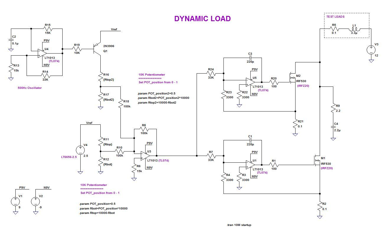 Dynamic Electronic Load Project Page 1 Electronics Pinterest 200m Fm Transmitter Circuits And Diagramelectronics Dc Circuit Projects Techno