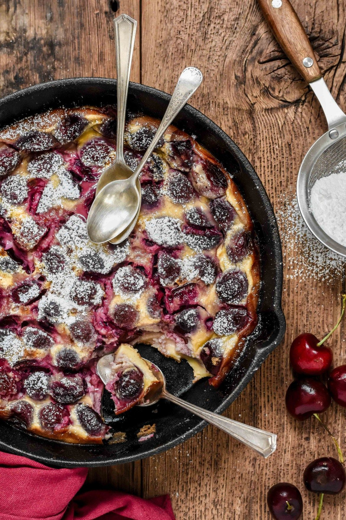 Photo of Classic French Cherry Clafoutis