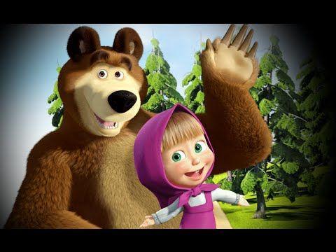 Masha And The Bear Most Seen Masha And The Bear Marsha And The Bear Birthday Cake Toppers