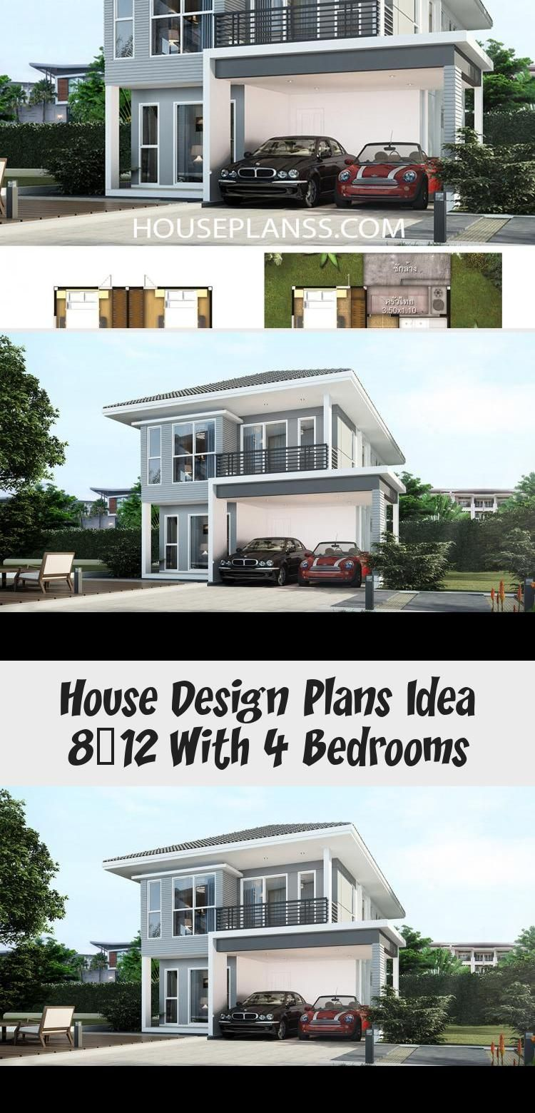 House Design Plans Idea 8x12 With 4 Bedrooms Home Ideassearch Floorplans4bedroomwithbonusroom Floorplans4bedroom2000sq In 2020 Home Design Plans House Design House