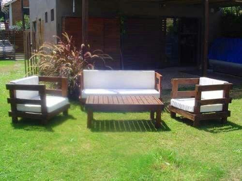 Sillones con tarimas para mi casa sillones para jardin for Confeccionamos muebles de jardin en palets