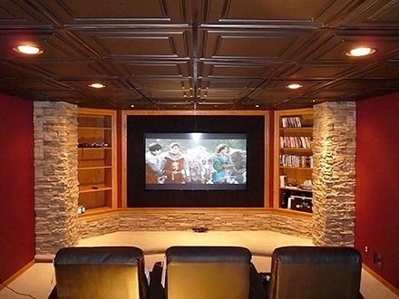 ceilume smart ceiling tiles for a drop down ceiling with on smart man cave basement ideas id=14625