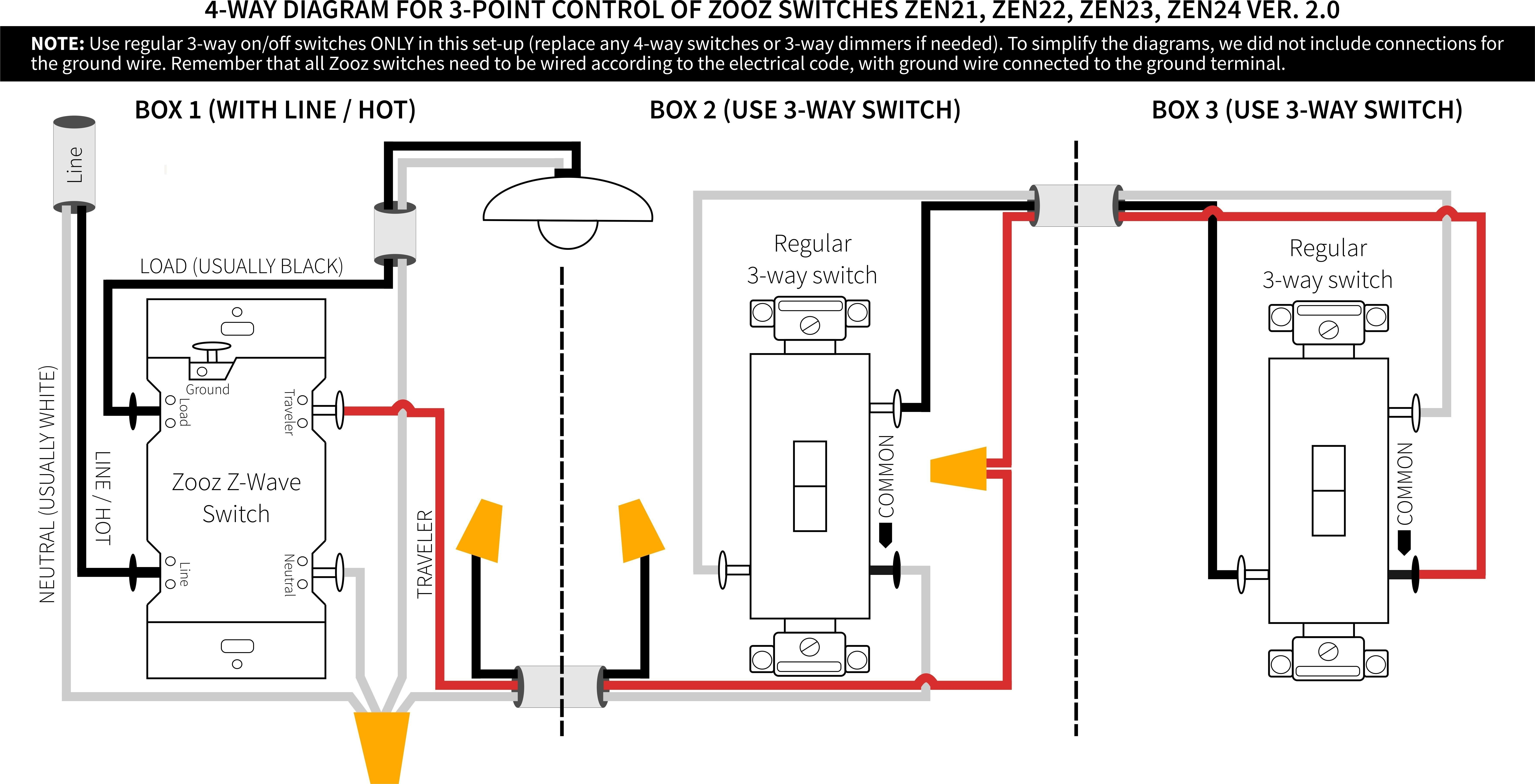Unique Wiring Diagram for A Leviton Dimmer Switch diagram
