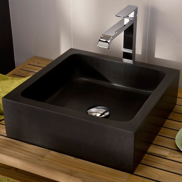 vasque poser granit stone poli robinet vasquelapeyresalles de - Robinet Haut Pour Vasque A Poser