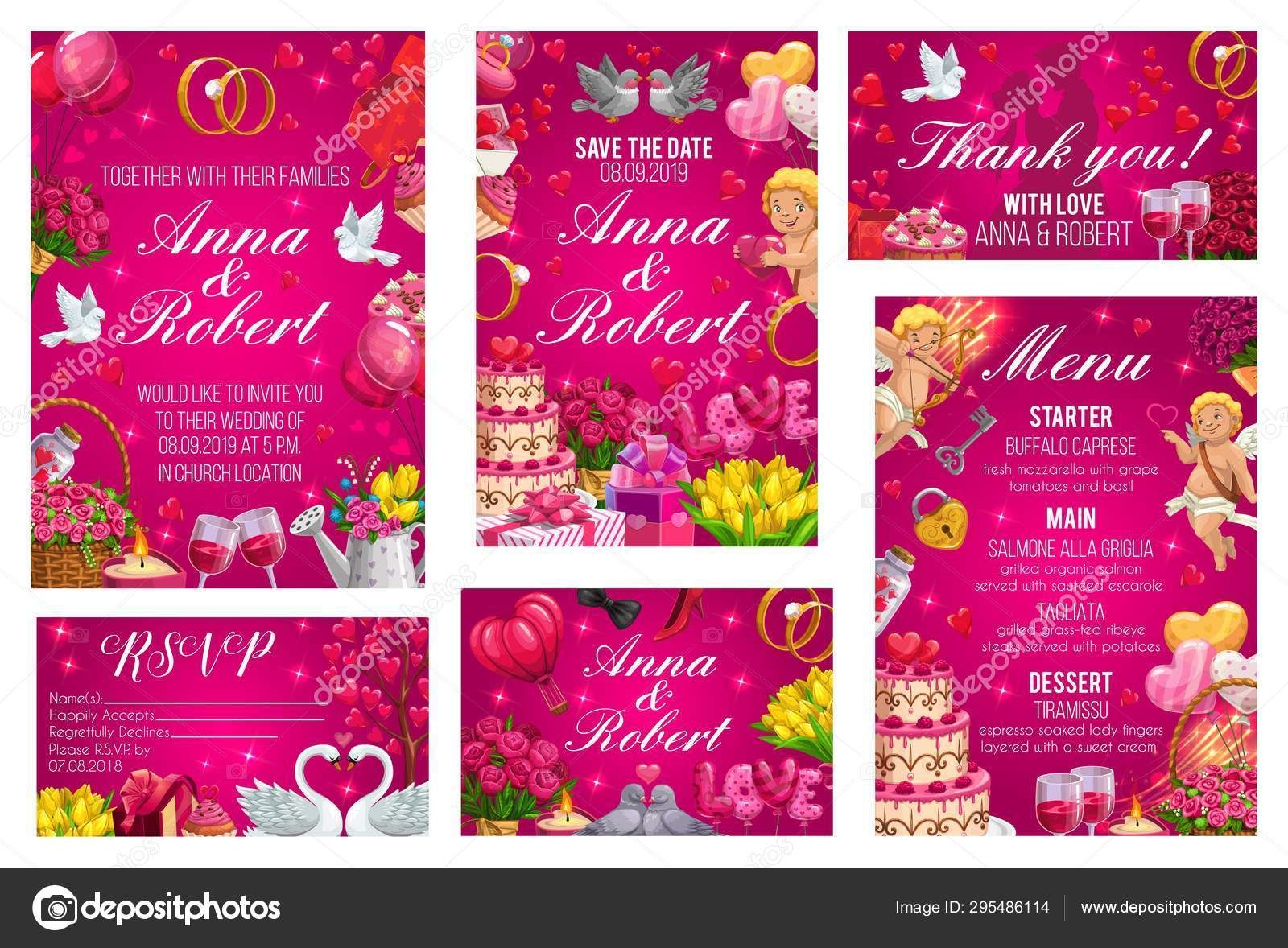 Engagement Invitation Template Vector Download in 4