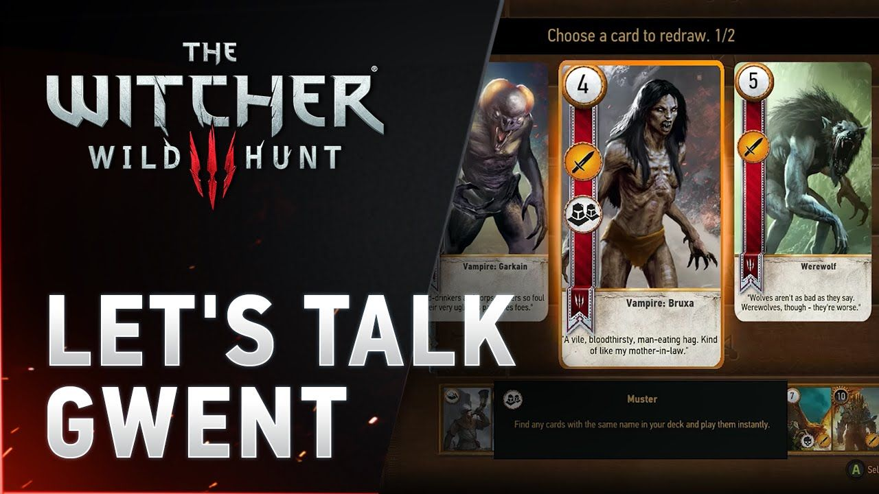 The Witcher 3: Wild Hunt  - Let's Talk Gwent