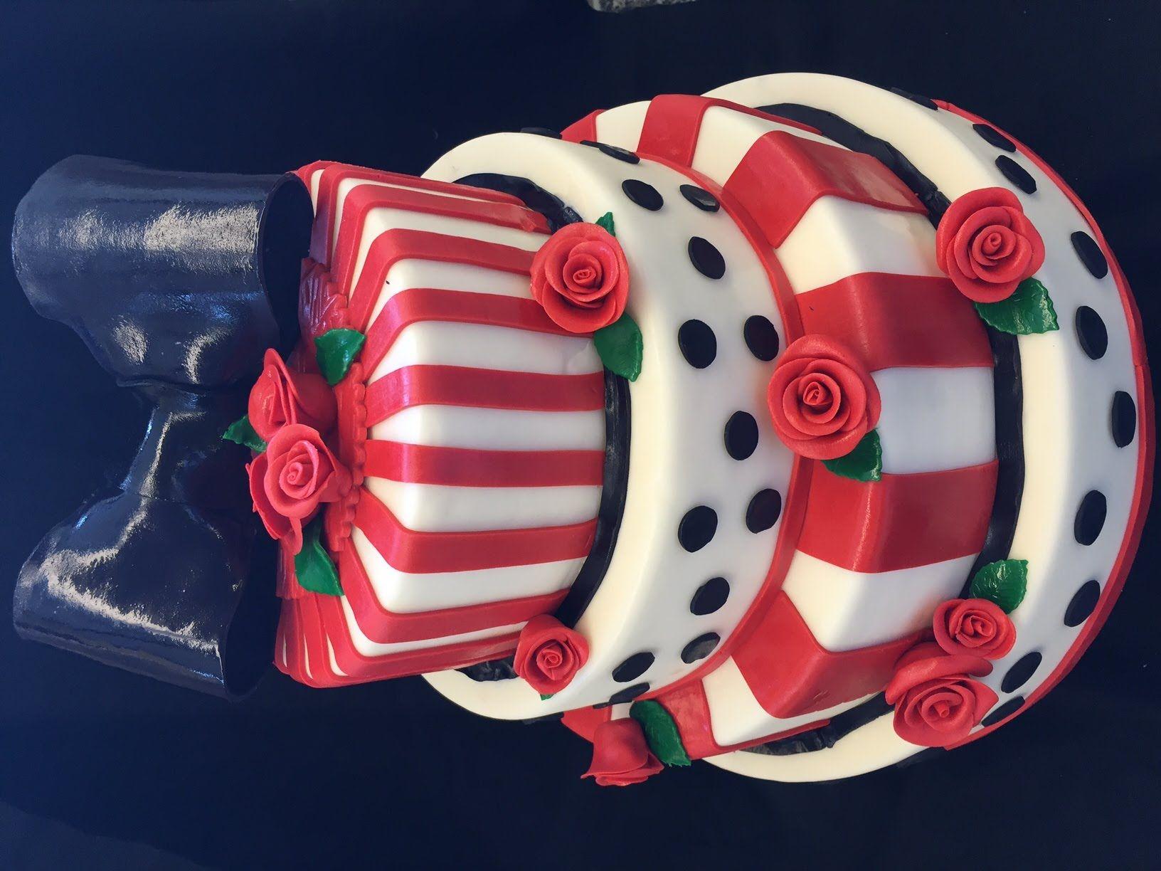 4 st ckige rockabilly torte cake zum selber machen von. Black Bedroom Furniture Sets. Home Design Ideas