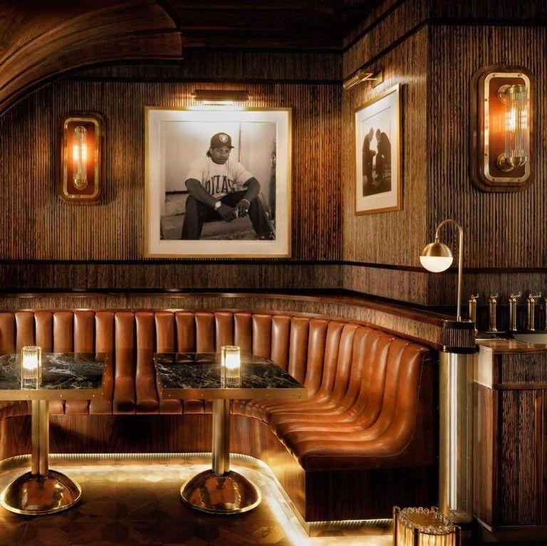 40 Amazing Lounge Bar Design Interior Ideas Restaurant Booth Seating Bar Interior Design Bar Seating