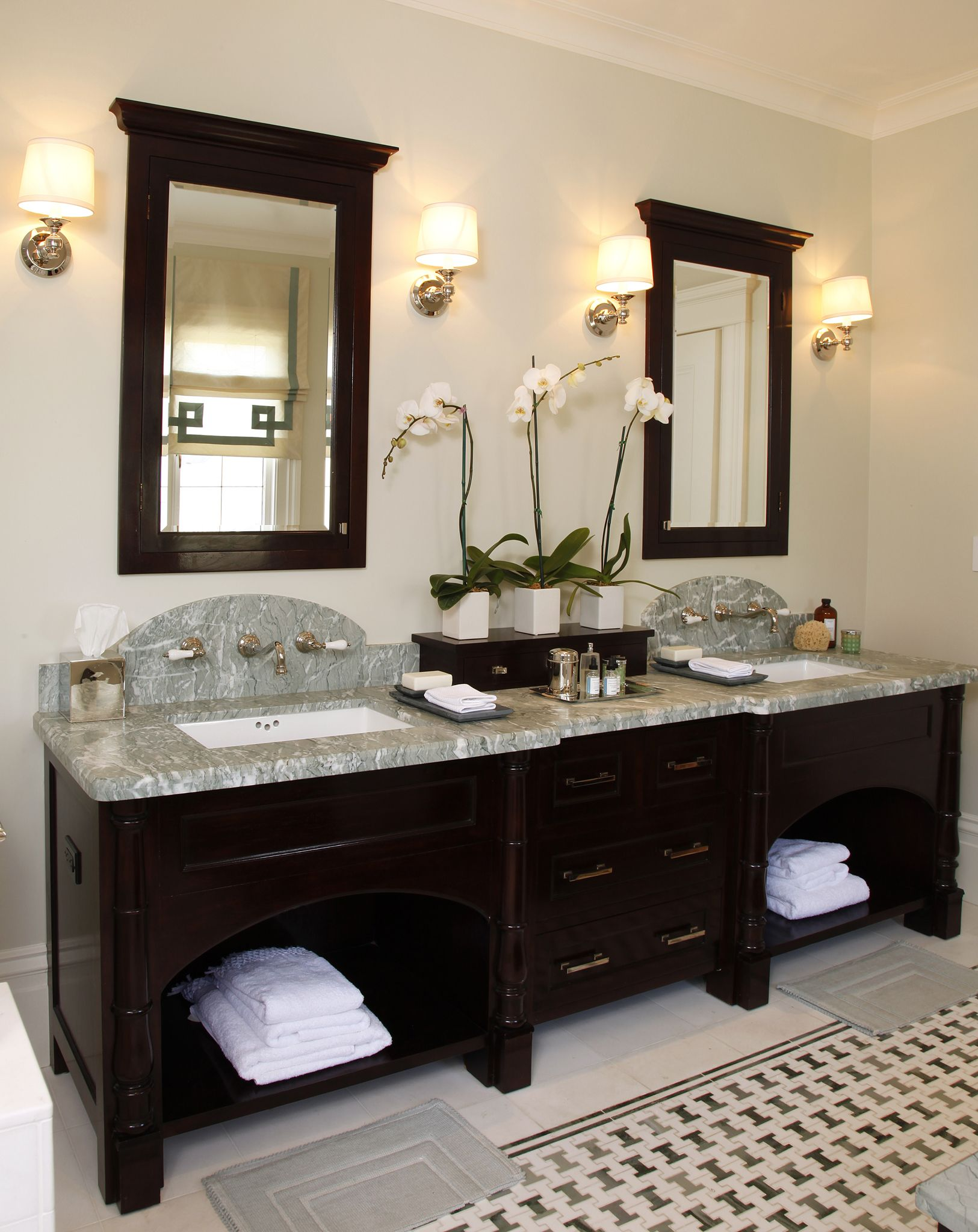 Master bedroom and bathroom  Master Bathroom  Design by Anne Fifer Interiors  Remodel ideas
