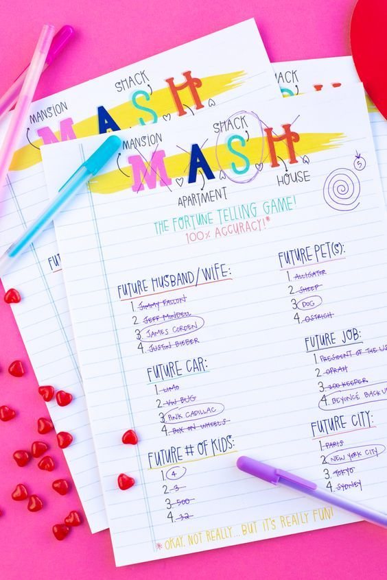 This 90's MASH Game Will Reveal What Matters To You Most ...