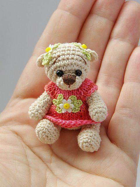 Mini Amigurumi, Bär, Baby by LaskaSweden   minis häkeln   Pinterest ...
