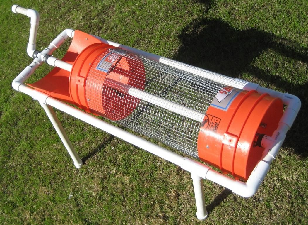 Mike S Hand Trommel This Would Make A Great Compost Sifter Or