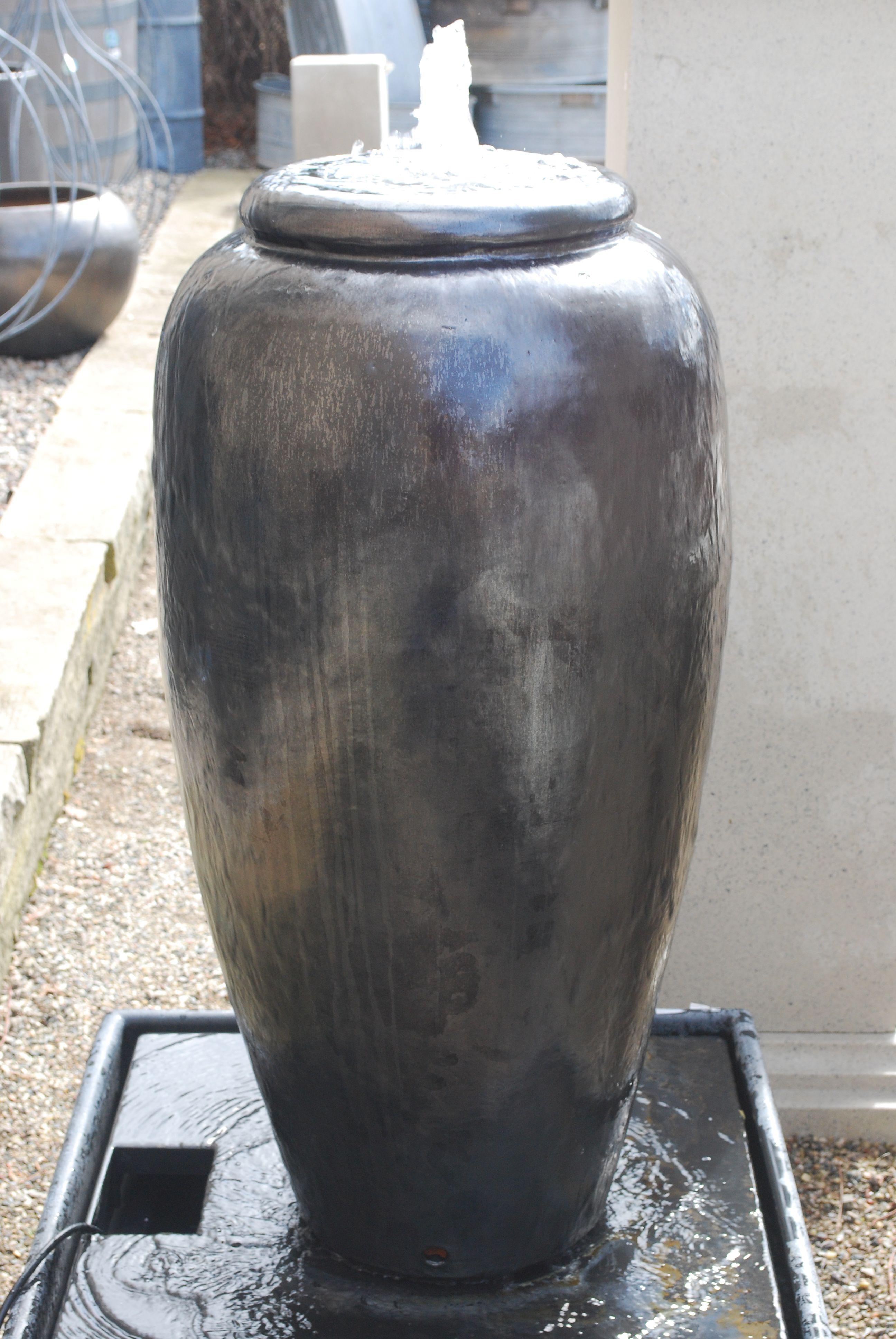 Fountain Jar Water In Garden Fountains