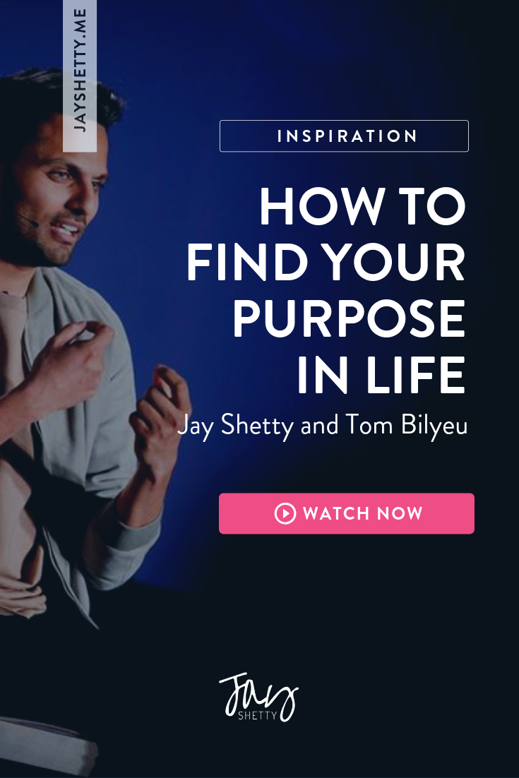How to Find Your Purpose. Jay Shetty has an honest ...