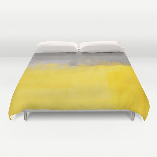 A Simple Abstract Duvet Cover