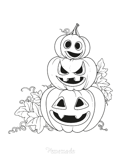 75 Halloween Coloring Pages Free Printables Pumpkin Coloring Pages Halloween Coloring Pages Pumpkin Drawing