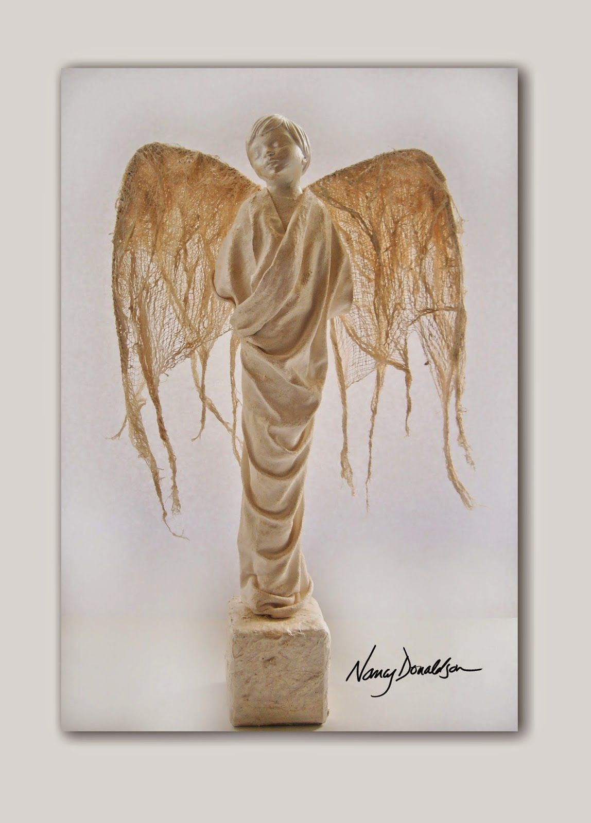 the evolution of nancy: powertex sculpture