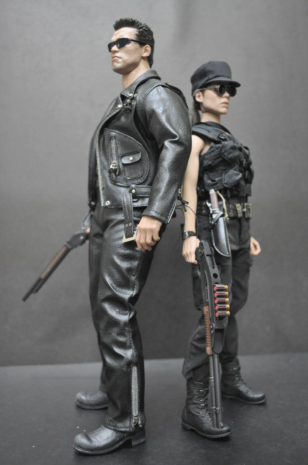 Terminator u0026 Sarah Connor  sc 1 st  Pinterest & Terminator u0026 Sarah Connor | Capturing the Character | Pinterest | Movie