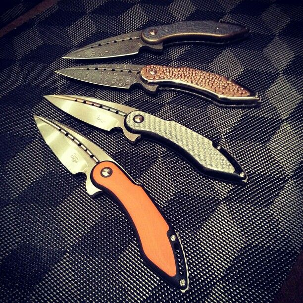 Todd Begg friction folders from ECCKS