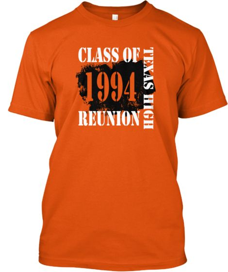 THS Class of 1994 20-Year Reunion Shirt | 20 years, Class reunion ...