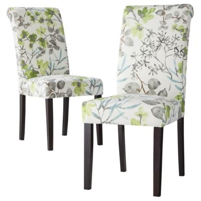 Avington Dining Chair Gazebo Cloud Floral Set of 2 Ive been – Floral Dining Chairs