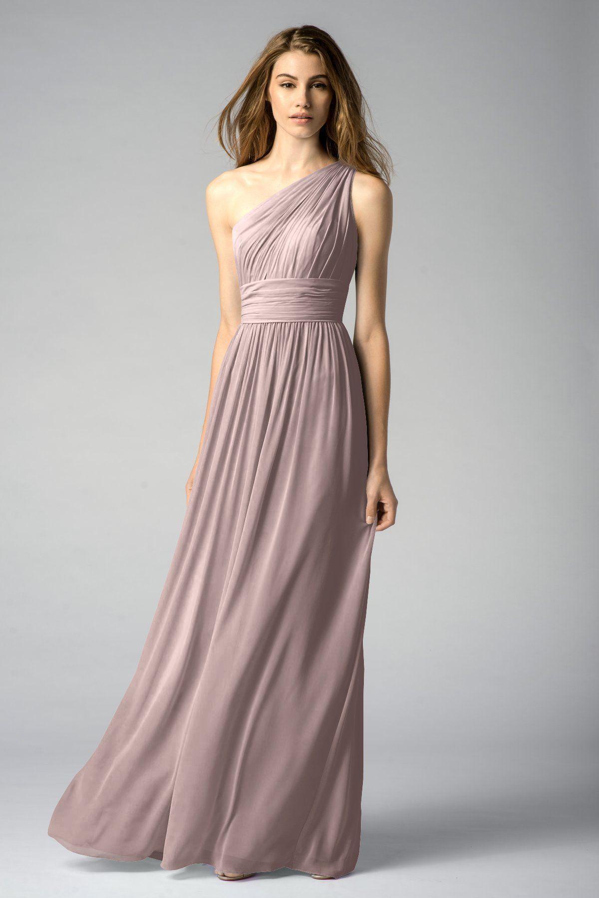 cefaea70ae92 $212.40 (orig $236) at Bella Bridesmaids | Watters Maids Dress Tamara |  DRESS TAMARA STYLE 7546I | color mink or stone