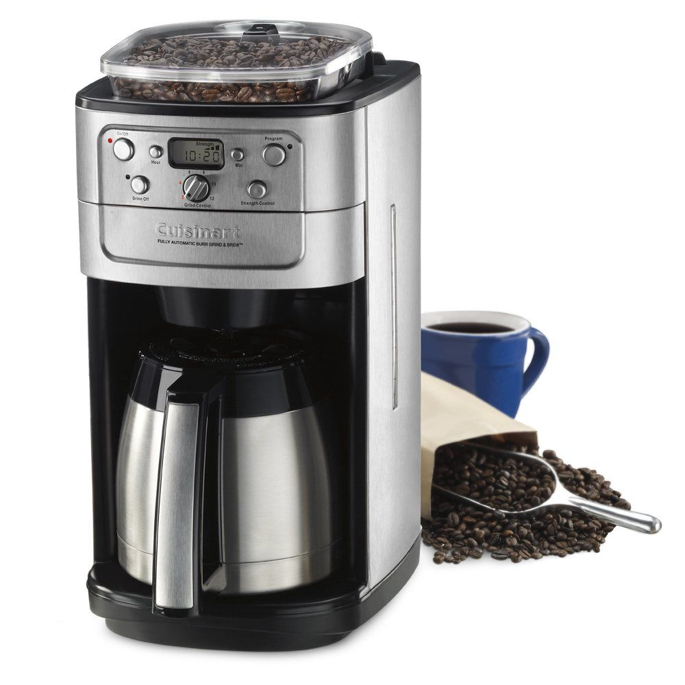 Cuisinart Dgb900bc Grind And Brew Thermal 12cup Automatic Coffeemaker You Can Find Out More Det Coffee Maker With Grinder Cuisinart Coffee Maker Coffee Maker