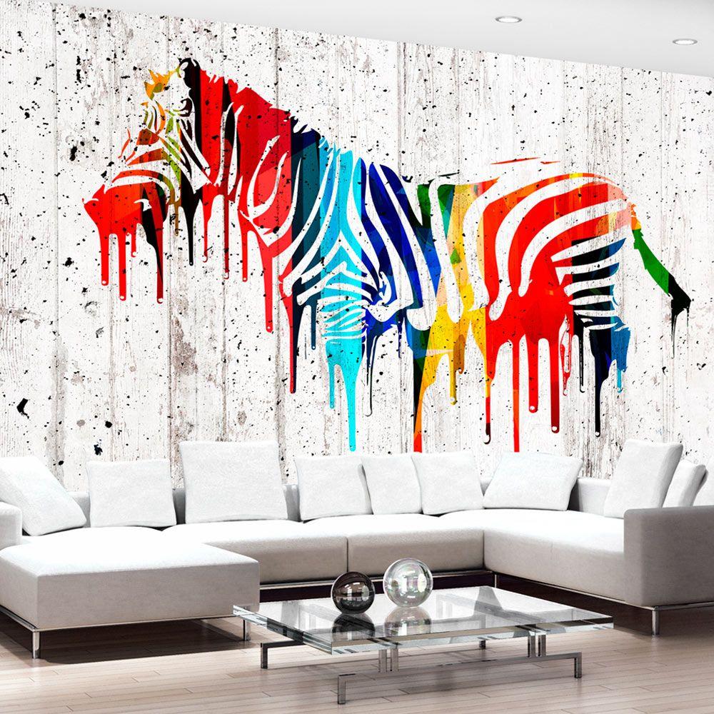 Pittura Resistente Ai Graffi fotomurale - urban safari (con immagini) | pareti di carta