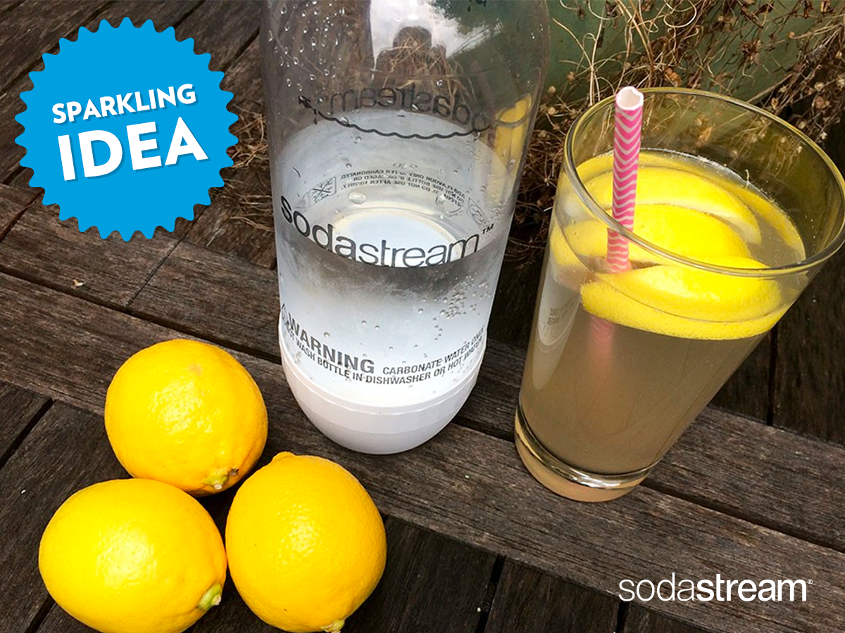Sparkling Idea Make your own naturallyflavoured