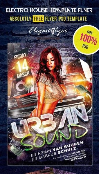 50 Free Party Flyer Templates Download Psd Files Webdesign