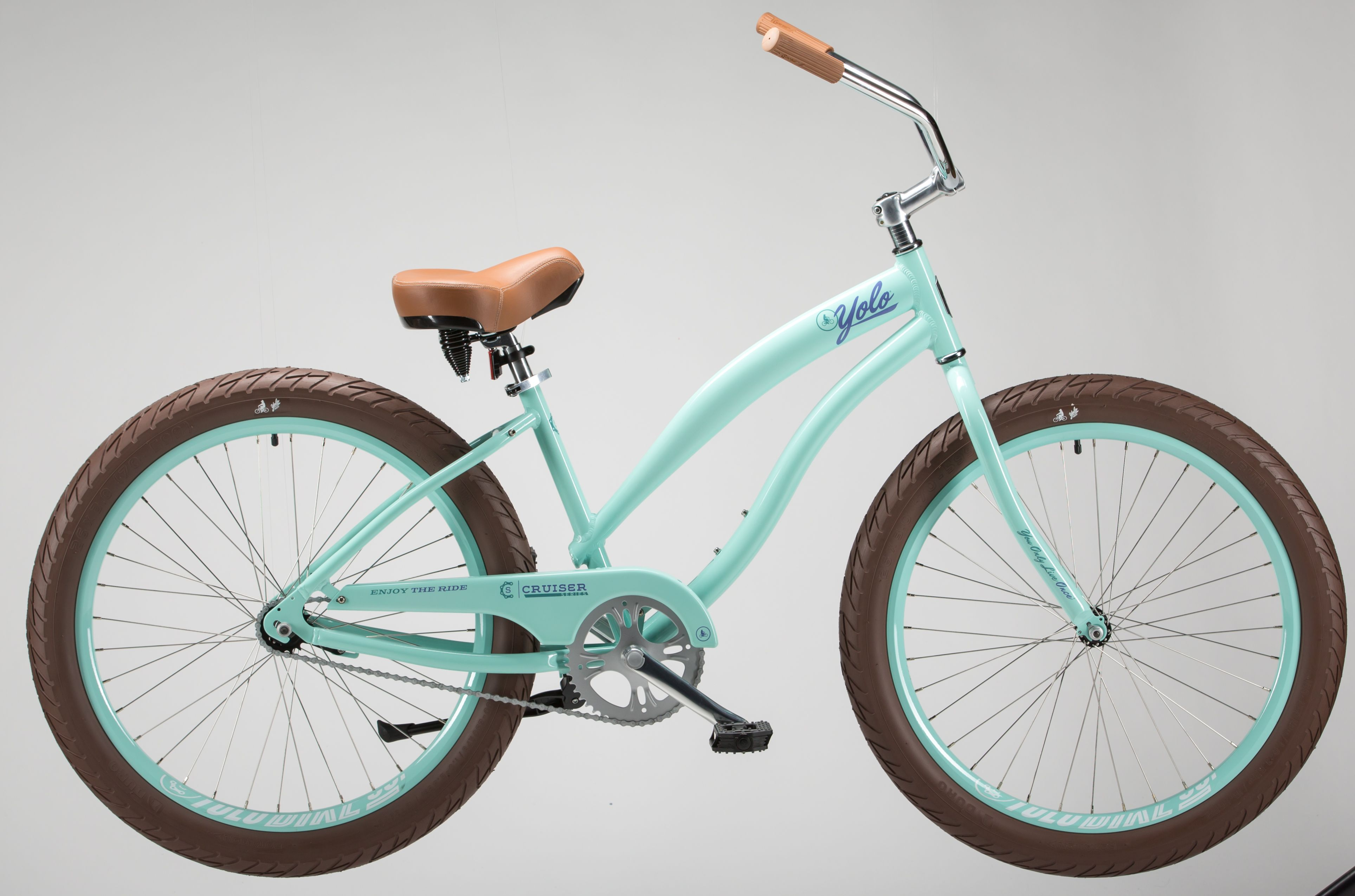 Single Speed Beach Cruiser In Seafoam Check Out Yoloboard Com For