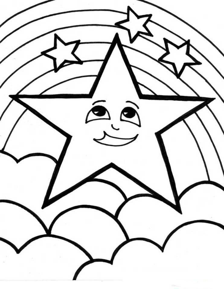 Dibujos para Colorear Arcoiris 7 | Dibujos para colorear para niños ...