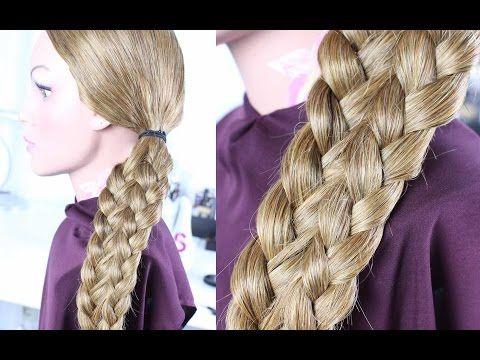 Einfache Frisuren Schone Flechtfrisur Mittellange Lange Haare Schnelle Frisur Beautybr Flechtfrisuren Geflochtene Frisuren Frisuren Lange Haare Geflochten