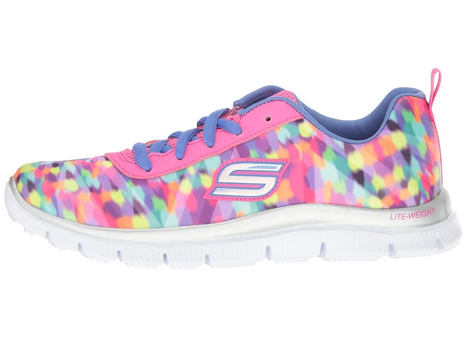 dac02dd27169 SKECHERS KIDS Skech Appeal - Rainbow Runner 81820L (Little Kid Big Kid)  Girl s Shoes Multi
