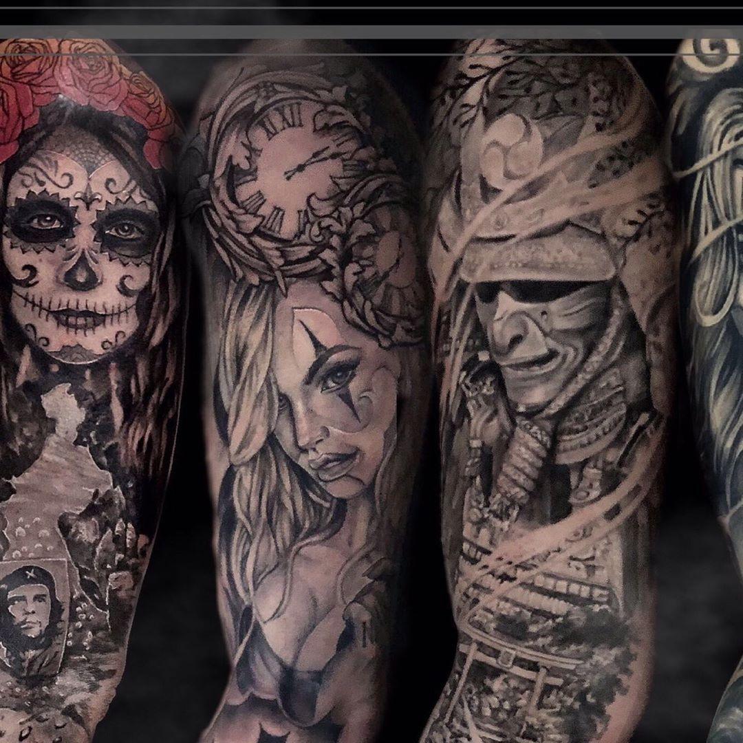 Photo 8/9 • •  @kwadron @balmtattooitalia  #mexicanskull #mexicanstyle_tattoos #mexicanstyle_art #tatts #inked #chicanotattoo #chicanostyle #tattooart #tatuaggiochicano #skulltattoo #realistictattoo #blackandgrey #blackandgreytattoo #payasa #tattoo #blackworktattoo #realisticink #tattooportrait #italiantattooartist #tatted #tattedup #losangeles #newyork #coverup #tattooing #payasatattoo #torino #newyork