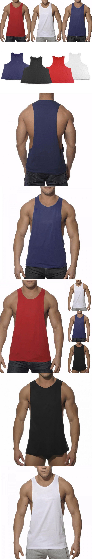 193c76742d1dd New Men s Vivid Tank Tops Men Low Cut Armholes Vest Sexy Tank Xman Muscle  Tops Man s