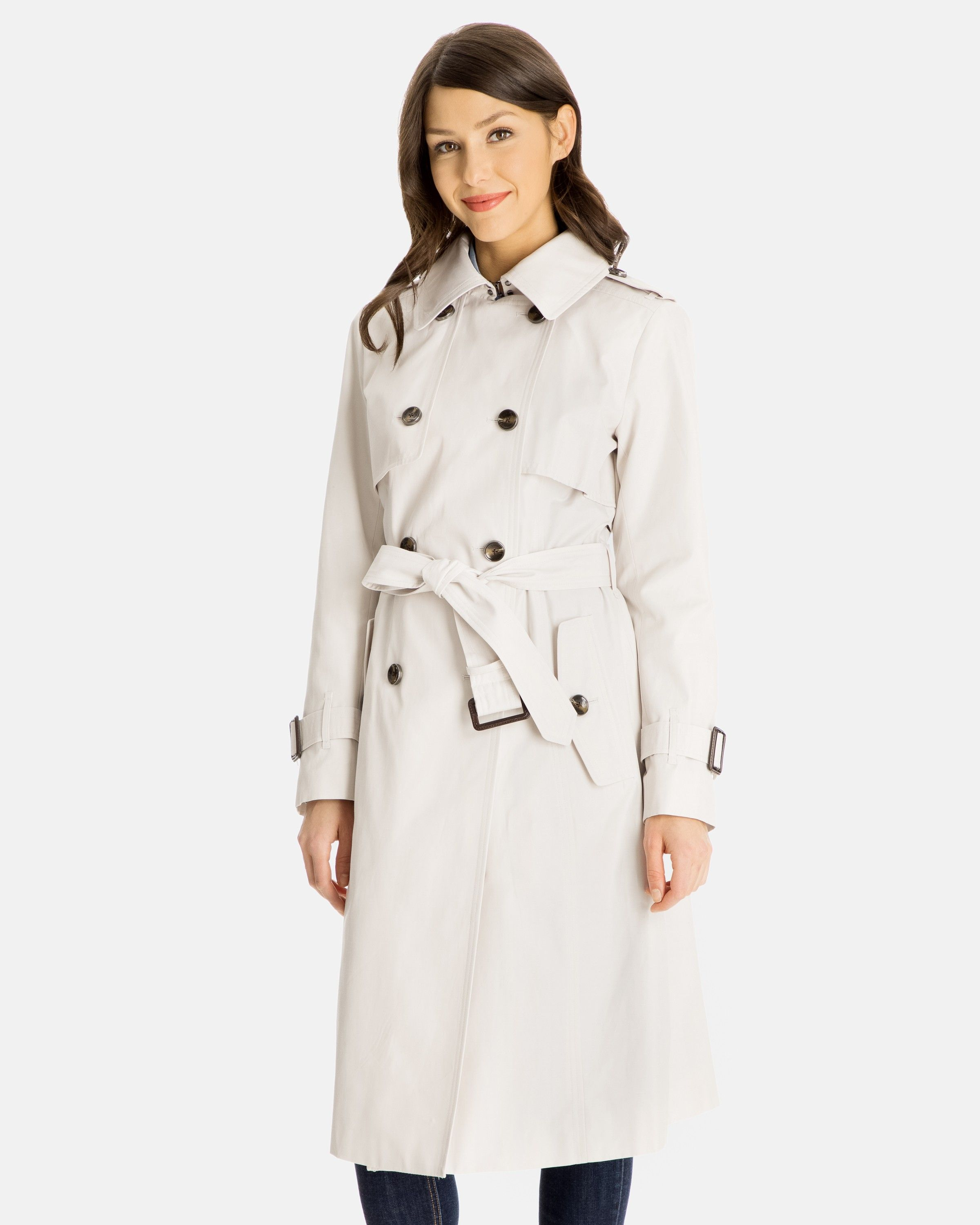 d614684affbf28 Fern Double-Breasted Trench Coat for Women - Gun Flaps
