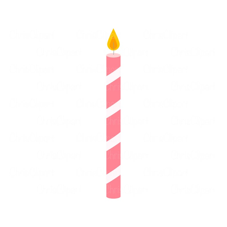 Birthday Candle Svg Birthday Candle Clipart Candle Png Etsy In 2021 Birthday Candle Clipart Candle Clipart Birthday Clipart