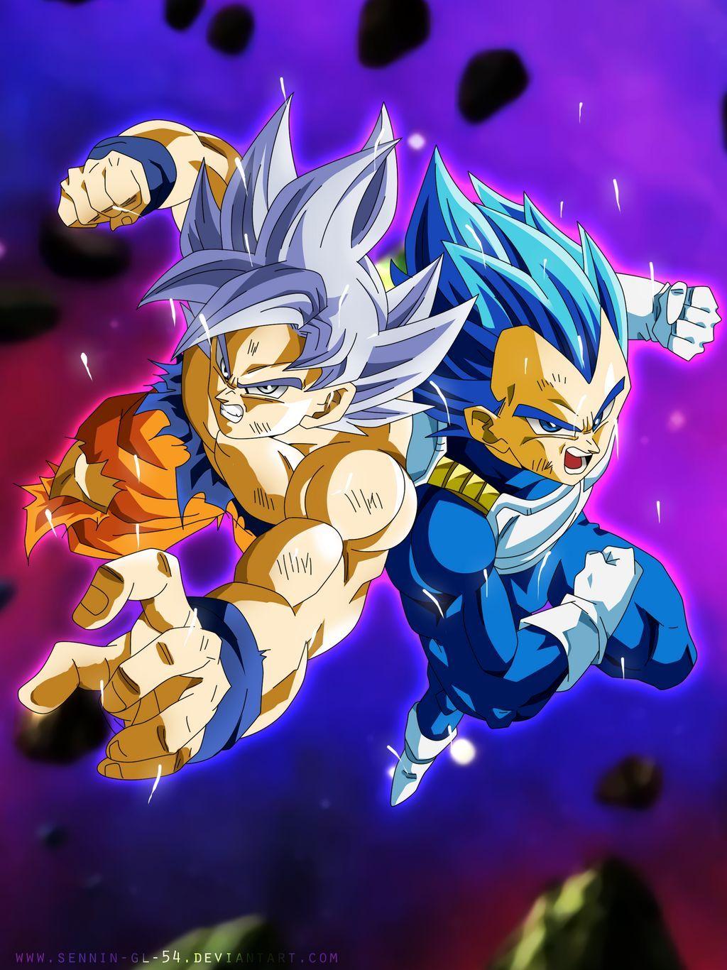 Goku And Vegeta Universe Survival By Sennin Gl 54 On Deviantart Anime Dragon Ball Super Goku And Vegeta Dragon Ball Super Goku
