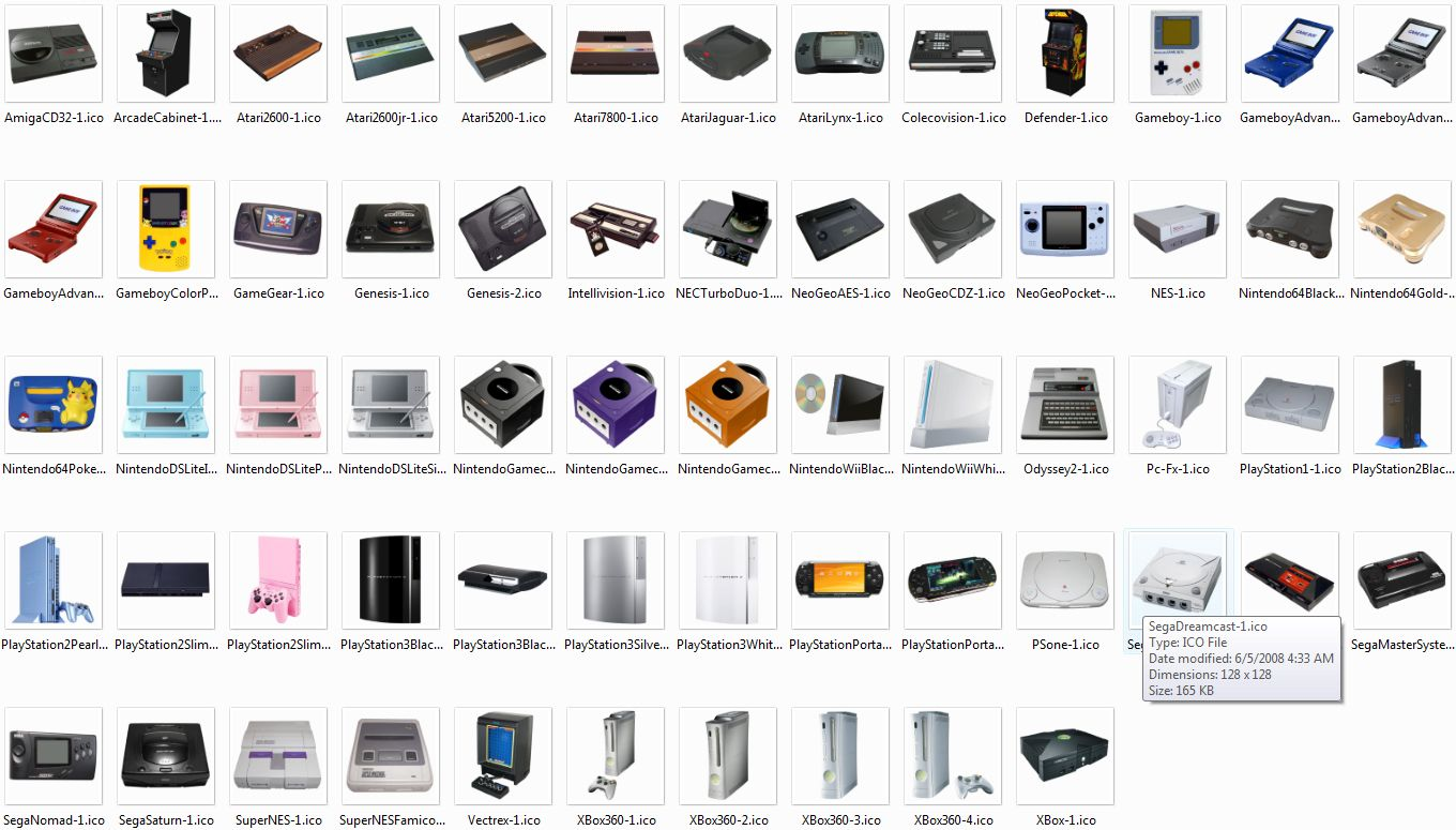 Photo Game Console Icons by PixelOz on DeviantArt | Video