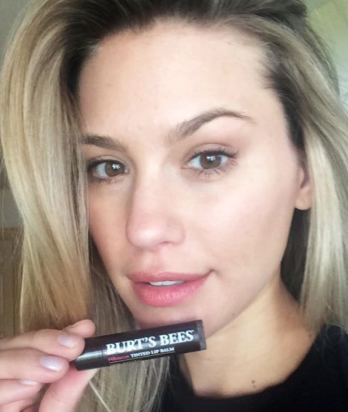 Models Favorite Drugstore Products Burts Bees Tinted Lip Balm Hair Beauty Tinted Lip Balm