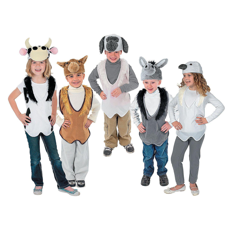 Christmas villages  sc 1 st  Pinterest & Nativity Costume Animal Slip-On Vest u0026 Hat Sets   Nativity costumes ...