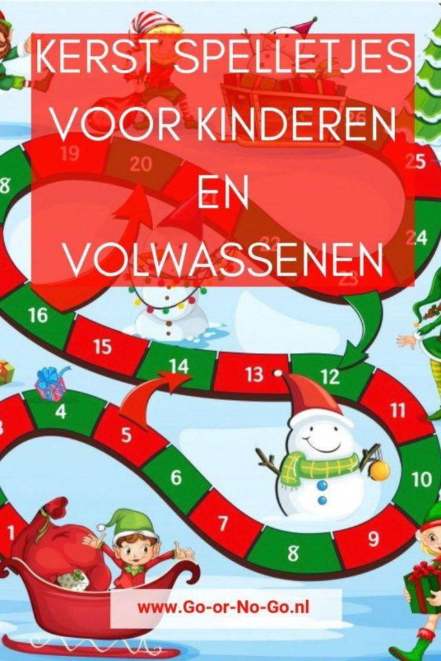 kerst spelletjes 2020 Kerst spelletjes voor kinderen en volwassenen in 2020 | Kerst