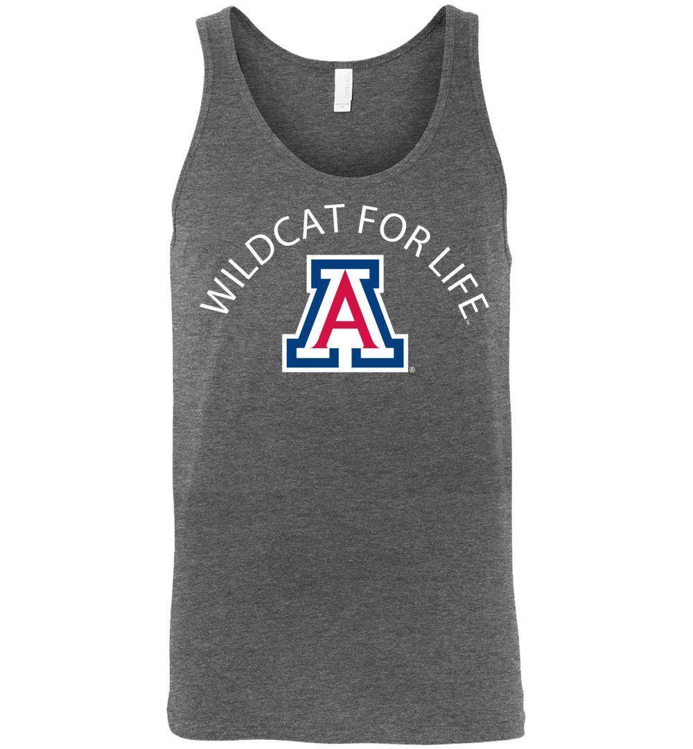 Official NCAA Venley University of Arizona Wildcats U of A Wilber Wildcat BEAR DOWN! Unisex Tank - uofa3002